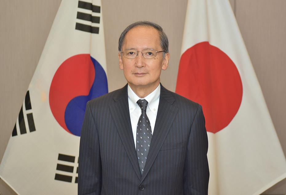 着任挨拶|在大韓民国日本国大使...